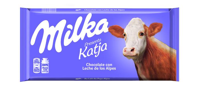 Milka tiene sustitutas para su icónica vaca lila