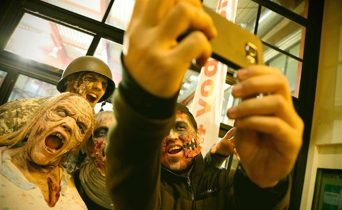 El centro comercial La Vaguada escenario de un apocalipsis zombie