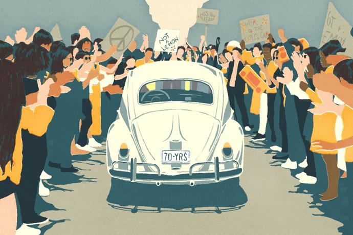"""Volkswagen, dice adiós a su icónico """"escarabajo"""" y se orienta hacia el coche eléctrico"""