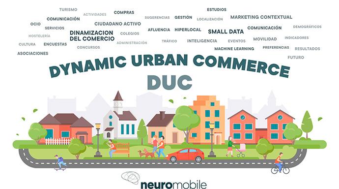 Premio para 'Dynamic Urban Commerce', el  Big Data para pymes de Neuromobile