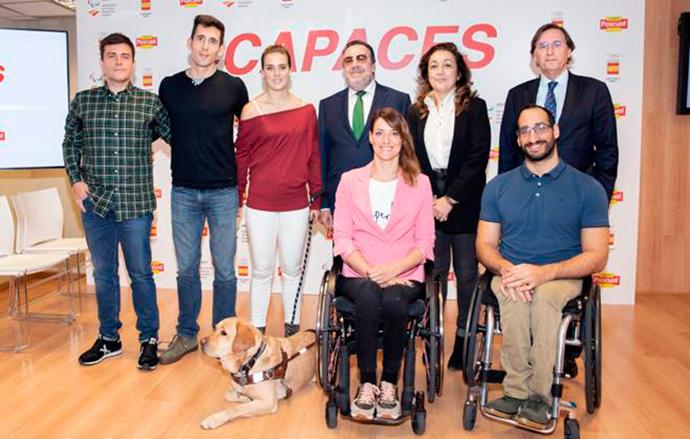 Calidad Pascual presenta Capaces, un proyecto documental que muestra la vida de deportistas paralímpicos