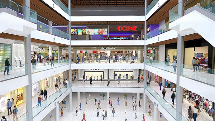 Aires nuevos para Los Fresnos en Gijón. Redevco reformará el centro comercial