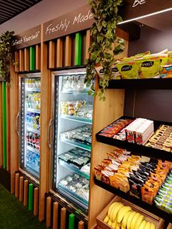"""Foodie's Micromarket, el """"autoservicio saludable"""",  en espacios de Banco Santander"""