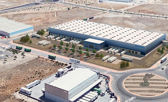 Gazeley, compra una parcela en Pinto para construir un almacén de última milla