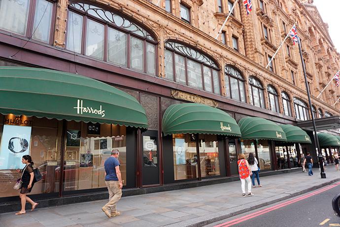 Harrods, en China. Abrirá su primer almacén de lujo fuera de Londres en Shanghai
