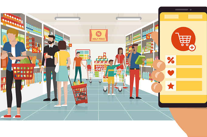 Marketing digital en el sector retail. Lidl, Carrefour y DIA lideran la inversión global