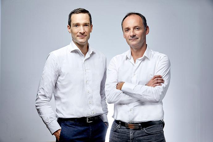 Philippe de Chanville y Christian Raisson, cofundadores de ManoMano.