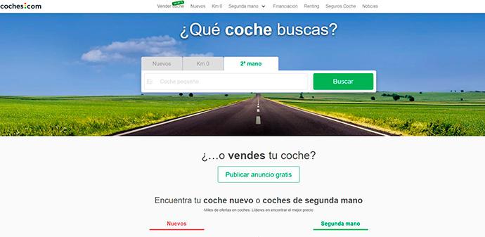 Santander Consumer Finance, en la distribución online de vehículos. Adquiere Coches.com