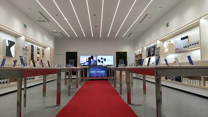 Febrero de estreno para Huawei. Abre ecommerce y una nueva 'flagship'