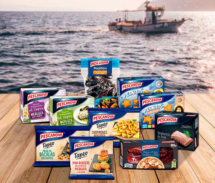 Pescanova se coloca como líder de fabricantes de gran consumo