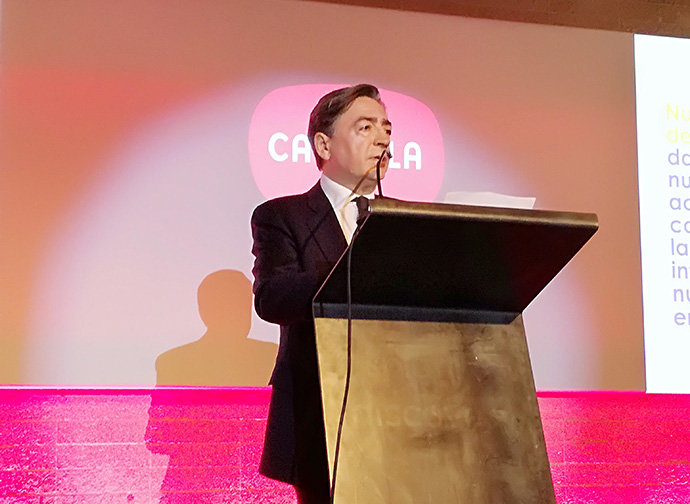 Sebastián Palacios, director ejercutivo de Carmila España, durante Carmiday 2020