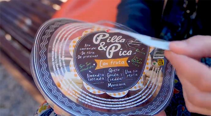 Primaflor lanza Pilla & Pica, con tres variedades de 'snacks' saludables