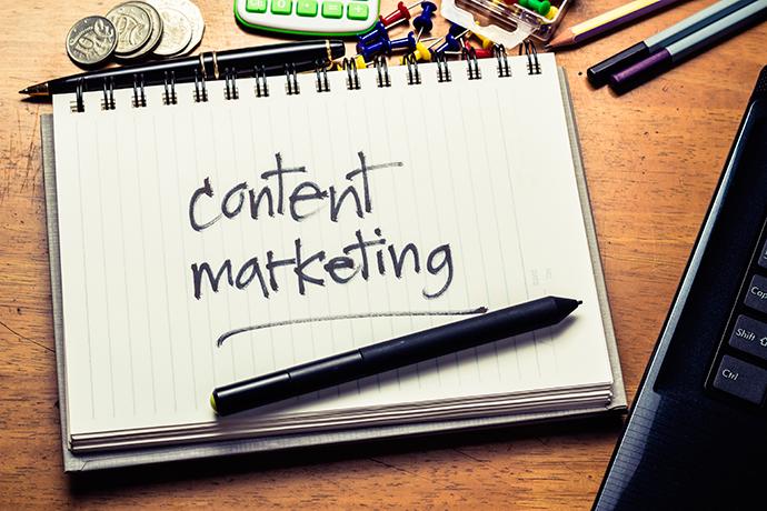 el content marketing hace referencia a la creación de contenidos en función de objetivos y estrategias previamente marcados.