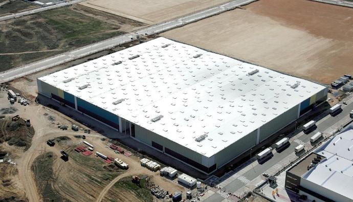 El almacén logístico de Torrejón de Ardóz (Madrid).