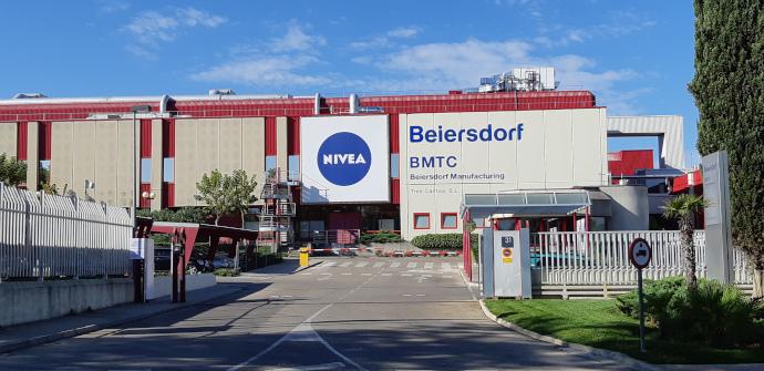 a planta de producción de Nivea España, Beiersdorf Manufacturing Tres Cantos (Madrid),