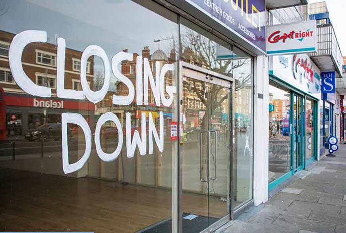 Entre 2018 y 2019, el número de establecimientos que echaron la persiana creció un 22%.