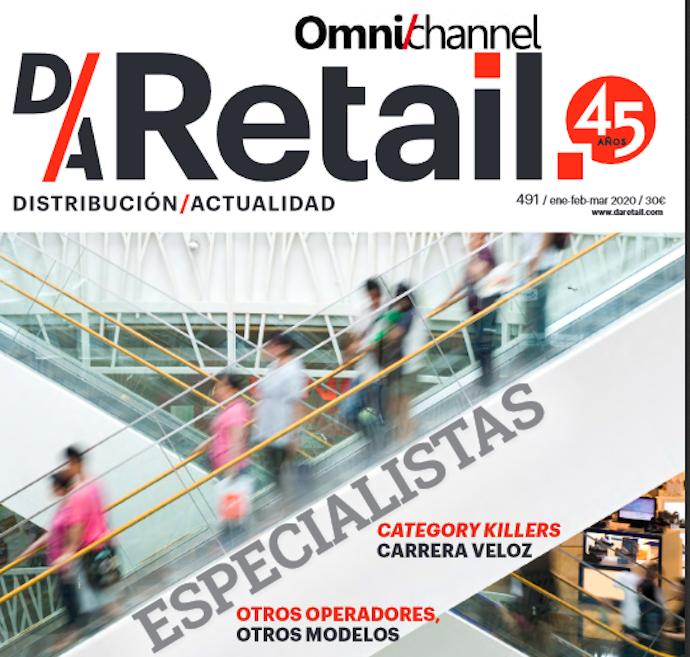 D/A Retail (nº491), correspondiente a los meses enero, febrero y marzo de 2020,