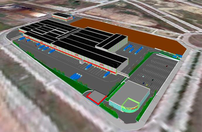 Grupo MAS invertirá 45 millones de euros en la construcción de una nueva plataforma logística en Guillena (Sevilla)