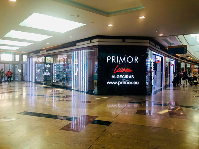 Primor confía en el Centro Comercial Puerta Europa