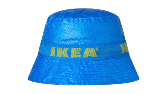 Ikea aprovecha su bolsa reutilizable para fabricar sombreros