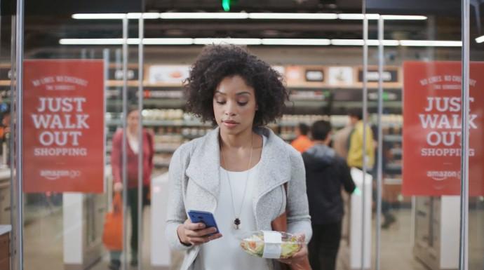 Amazon comercializará la tecnología 'pagar sin cajas' de Amazon Go