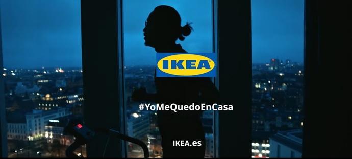 Ikea rinde homenaje al hogar con su campaña #YoMeQuedoEnCasa