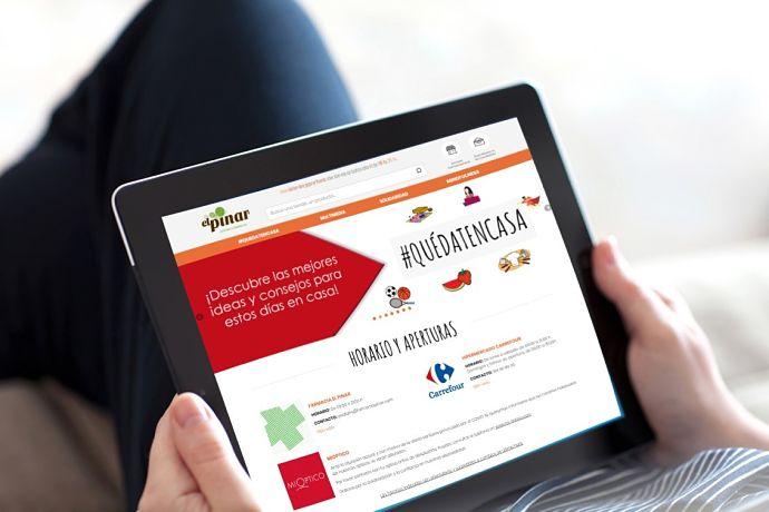 Carmila transforma las webs de sus centros en nuevos espacios de encuentro