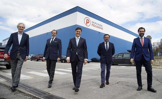 De Izda a Dcha: José Fafián, Javier Carral, José María Benavent, Ignacio González y Marco Nieto
