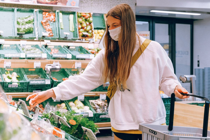 La cesta de la compra, con productos más naturales en época post-COVID-19