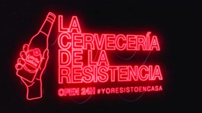 Estrella Galicia inaugura su cervecería online para sobrellevar el confinamiento