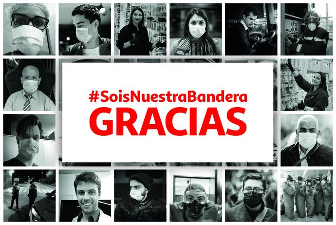 Alcampo homenajea a todos los ciudadanos en #SoisNuestraBandera