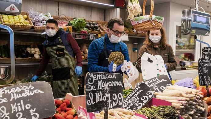 Los supermercados alcanzan los índices de contratación de un año