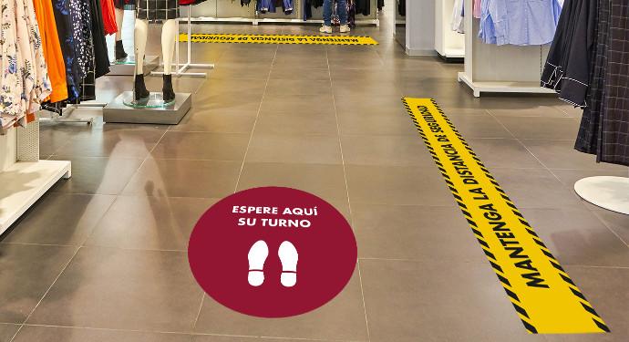 COVID-19. EGM lanza una tienda online con soluciones para la comunicación visual