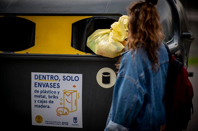 El reciclaje creció de media un 32% en cinco años en España
