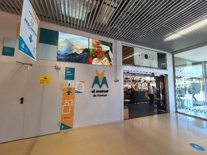 Mercat de Montgat implementa medidas extraordinarias sanitarias