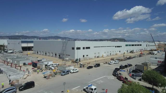 El centro logístico de frescos de Caprabo, en obras actualmente, se pondrá en marcha en junio