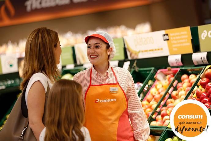 Consum lanza 5.000 ofertas de trabajo para cubrir vacaciones y sustituciones