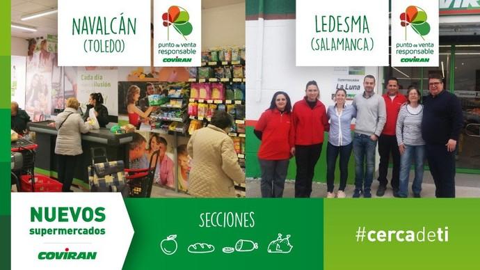 Hermanos Gómez y La Luna los dos nuevos supermercados de la cooperativa Covirán