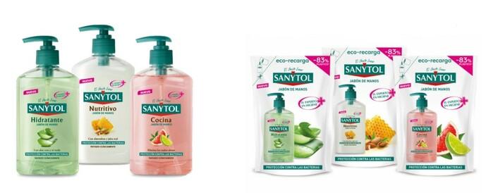 Sanytol lanza al mercado una nueva gama de geles desinfectantes