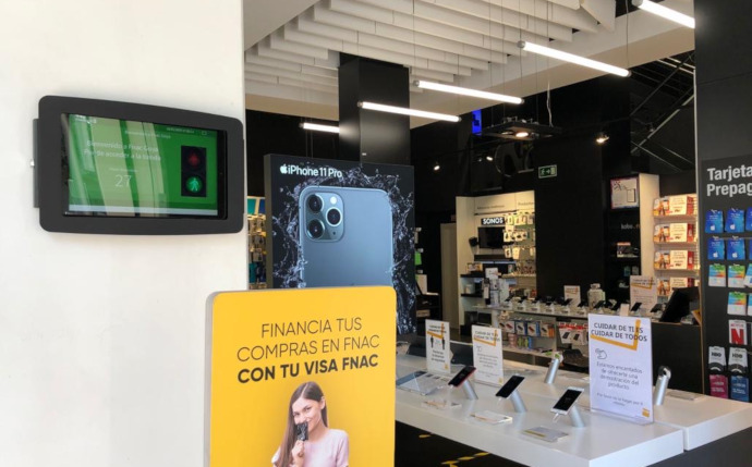FNAC incorpora un sistema de conteo para controlar el aforo en su red de tiendas