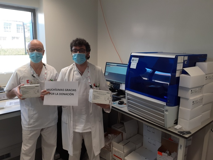 Trabajadores de Nestlé impulsan un crowdfunding para comprar material sanitario