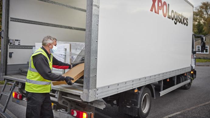 XPO refuerza su servicio de entrega de productos voluminosos como consecuencia del aumento de la demanda a raíz de la crisis sanitaria