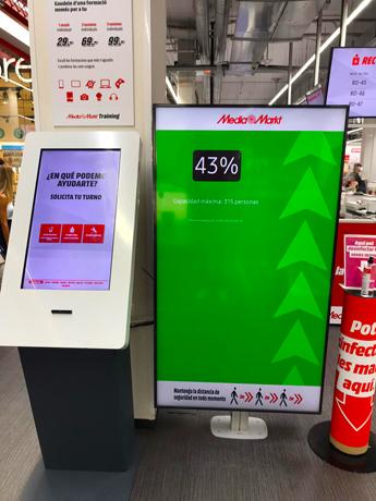 MediaMarkt implanta un sistema de control de aforo en sus tiendas