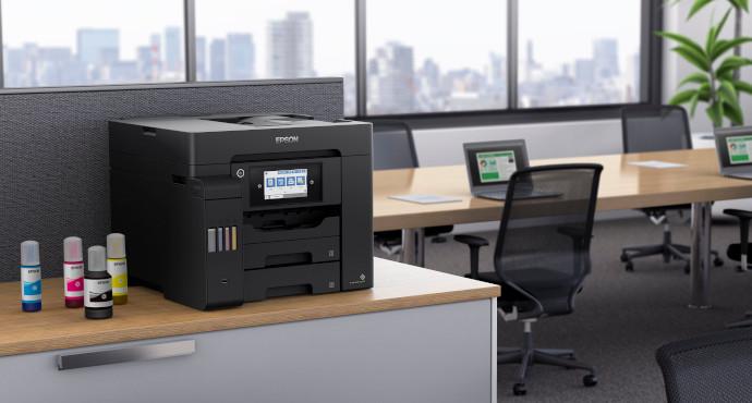 Epson, nuevas soluciones para garantizar la distancia social en la oficina