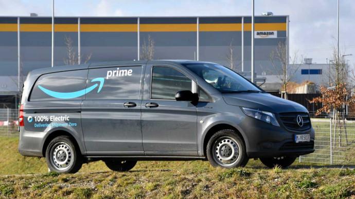 Amazon empleará furgonetas eléctricas en la entrega de última milla