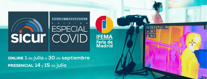 Ifema retoma su actividad en julio 2020 con Sicur especial Covid