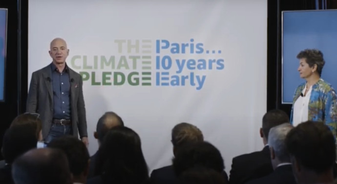 The Climate Pledge, proyecto lanzado por Amazon y Global Optimism, lanza un fondo de 2.000 millones de dólares para invertir en startups sostenibles