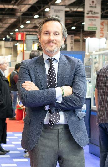 Óscar Barranco, director de los salones Empack y Logistics Iberia