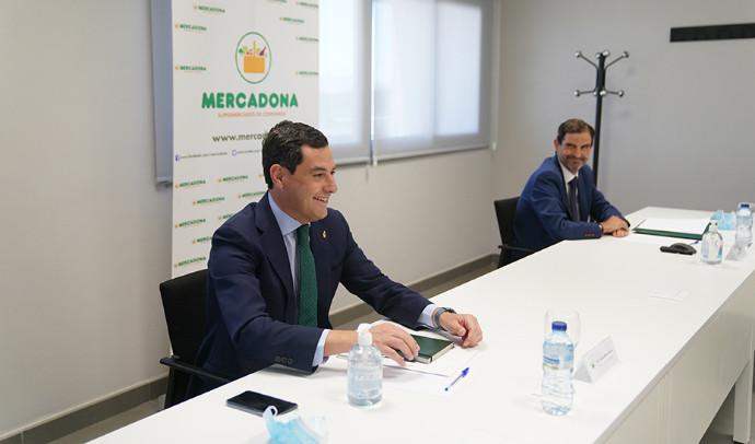 Mercadona invertirá más de 750 millones de euros en Andalucia hasta 2023