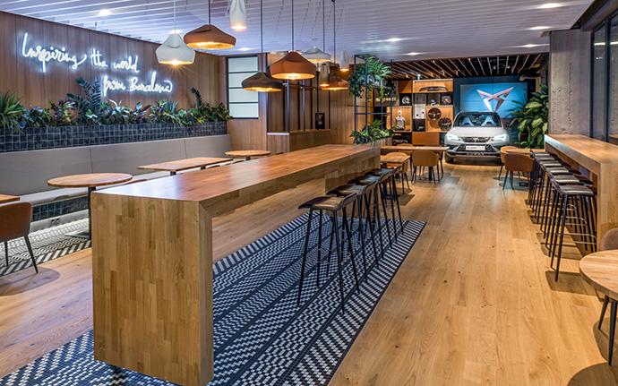 Nuevos negocios. «Hola Tapas Bar», la entrada de Seat en restauración